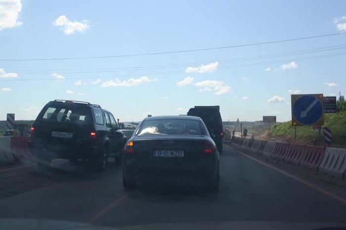 Реконструкция Новорижского шоссе